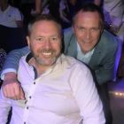 Jeff Collins (Best4travel & Globe Hotels) with Maurice Shiels (Sales Director Topflight)