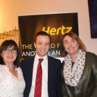 Bladhana Richardson (American Holidays), Jason Kearns (Hertz) and Dee Burdock (American Holidays)