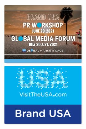 Brand USA Hosts its first dedicated public relations events on the Brand USA Global Marketplace Platform (29 June 2021 & 20-21 July 2021)