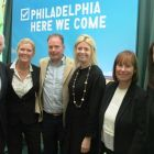 John Spollen (Cassidy Travel) McKenna (Tour America) John Devereux (American Holidays) Yvonne Muldoon (Director of Sales Aer Lingus) Dara McMahon (Head of Marketing Aer Lingus) and Jenny Rafter (Head of Leisure Aer Lingus)