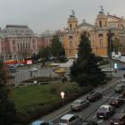 View of Cluj-Napoca from Beyfin Hotel