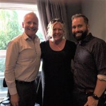 Andy Harmer (CLIA UK & Ireland director), Tony Roberts (CLIA Chair & VP Princess Cruises UK & Europe) and Adele Fitzpatrick-Foster, (CLIA Events Manager)