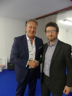 Don Shearer (Travelbiz) met with David McGuinness (Co-Founder and Director)