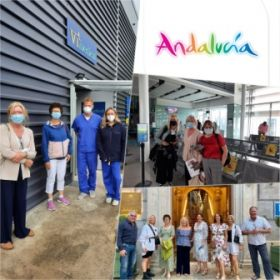 Members of the trade andmMedia in Ireland en route to Andalucía with Aer Lingus at V1 Medical in Santry