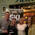 Katherina Murray (Dawson Travel) - Cork wWinner with Maurice Shiels and Shauna Kelly (Topflight)