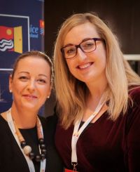 Martina Coogan and Aoife Gregg Anderson (United Airlines)