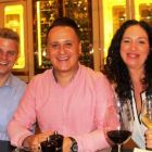 Paul de Jong (Plaza Athenee), Onur Gul (Turkish Airlines) and Norma Tolefe (WTC)