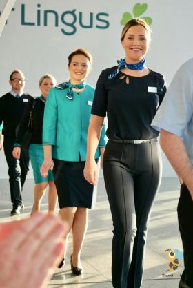 New Aer Lingus uniforms designed by Louise Kennedy