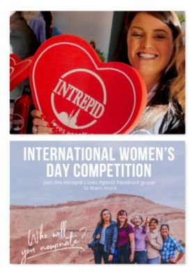 Carrie Day (Sales Manager EMEA Intrepid Travel) wants you to share stories of exceptional women in the travel industry to mark International Women's Day 2021