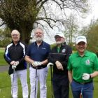 Phil Cooke, Tony Collins, with Graham McKenzie and Michael Doorley
