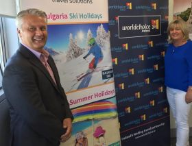 Carol Anne and Don announce Ski Incentive