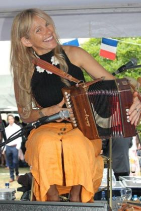 Sharon Shannon at the French Ambassador's residence