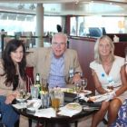 John Galligan (John Galligan Travel) holds court amongst the ladies - Hello Sailor!
