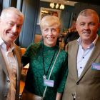 Aidan Coghlan (WTC), Caroline Corfield Rose (Port of Seattle Tourist Board) and Ray Scully (Travelopia)
