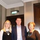 Joanne Campbell (PR Account Executive Discover New England), Tony Lane (Woodstock Communications) and Patricia Purdue (Marketing Consultant Rhode Island)