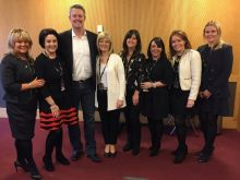 American Airlines host female colleagues at the Pendulum summit