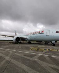 Welcome back to Air Canada