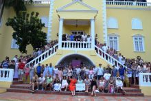 Travel Counsellors who celebrated their 'Gold' achievement in Jamaica
