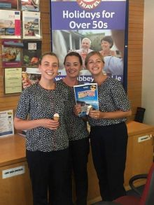 Three cornetto's for Abbey Travel