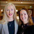 Tryphavana Cross (NYC & Company/Las Vegas Convention & Visitors Authority) and Jenny Rafter McCann (Aer Lingus)