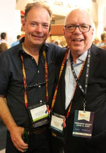 John Devereux (American Holidays) and Tom Travers (Hotel Beacon NYC)