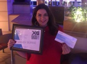 Mandy Burrie Wins Celebrity Cruises Regional Sales Manager of the year for the UK and Ireland!
