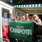 The Worldchoice Agents waving the KelAir/Campotel Flag!