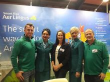 The Aer Lingus trade team
