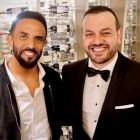 Craig David with Antonio Paradiso (Managing Director UK & Ireland, MSC Cruises)
