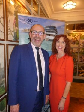 Michael English and Valerie Murphy (Celebrity Cruises)