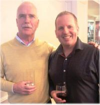 John Galligan with Ian Scott (Ian Scott Marketing)