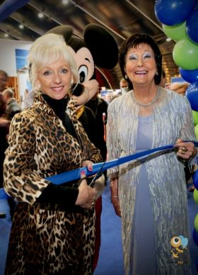 Debbie Magee officially opened the event with Maureen Ledwith (Holiday World)