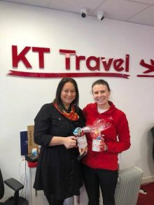 Lisa with Shelly from K Travel