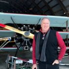Don Shearer flying from the Rhinebeck Aerodrome