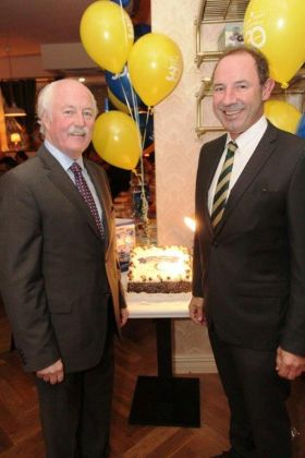 John Spollen and John Cassidy (Cassidy Travel)