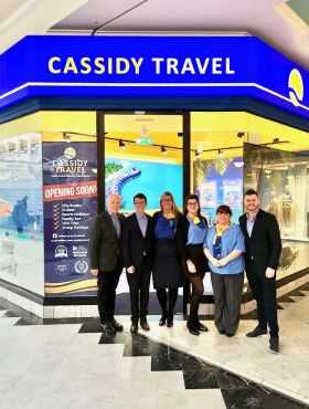 Congratulations to Cassidy Travel on the successful launch of their newest store!