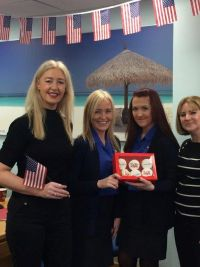 Las Vegas and British Airways deliver Vegas Cup Cakes :) to the trade