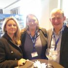 Melanie Young and Elaine Rooney (USIT) with Gerry Bergin (COGO)