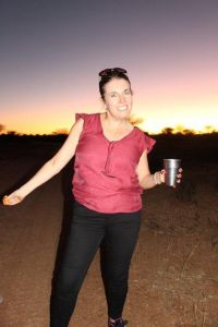 Lynne Casey (Fahy Travel) Sundowner Time