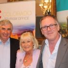Joe Tully (Tully's Travel), Jacinta Mc Glynn (Travelbiz) and Ben Greene (Arrow Tours)