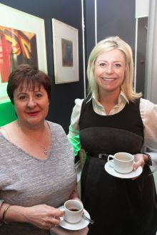 Claire Dunne (The Travel Broker) and Yvonne Muldoon (Head of Sales Aer Lingus) at the launch