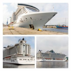 MSC Cruises commenced the northern Europe summer season when MSC Seaview departed from the German port of Kiel for the first of her 7-night cruises in the Baltic Sea.