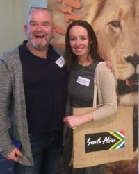 Mike Shinnors and Denise Connaughton (Holiday Experts)