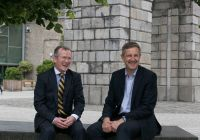 Niall Gibbons (CEO of Tourism Ireland) and Ian Davies (Stena Line Trade Director, Irish Sea South
