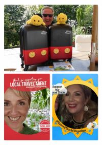 Don and the Buzzbees pulled the winners from the Travelbiz prize hive this week and it's a big Disneyland Paris congratulations to Emma and Catherine