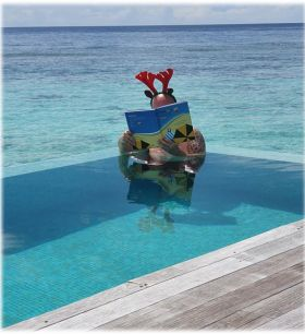 A great read during Christmas for Brian McCarthy (Island Marketing) whilst sunning himself in the Maldives