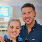 Rebecca Kelly and Matt Lebbern (Princess Cruises)