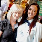Double trouble - Sharon Harney (Cassidy Travel) and Beverleigh Fly (Bookabed)