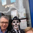 James Malone (Rathgar Travel) and Valerie Malone frightens the life out of poor old Charlie!