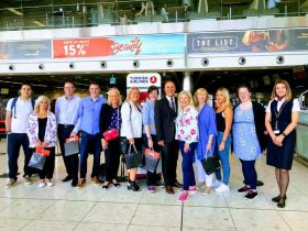 Turkish Airlines and the Jordan Tourism Board Fam leave Dublin Airport.
